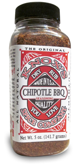 Chipotle dry rub seasoning, bbq seasoning