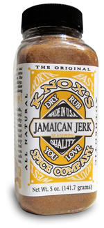 Jamaican Jerk, seasoning for fish, chicken pork and vegetables