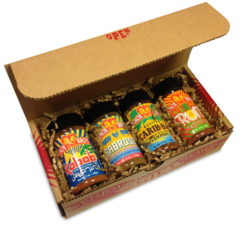 Regional Seasonings gift box