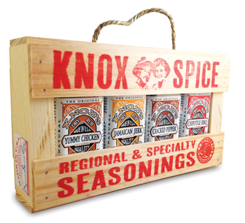 herb and spice seasoning gift crate